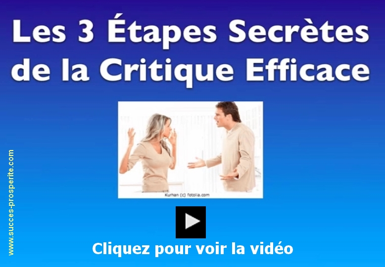 Critique efficace